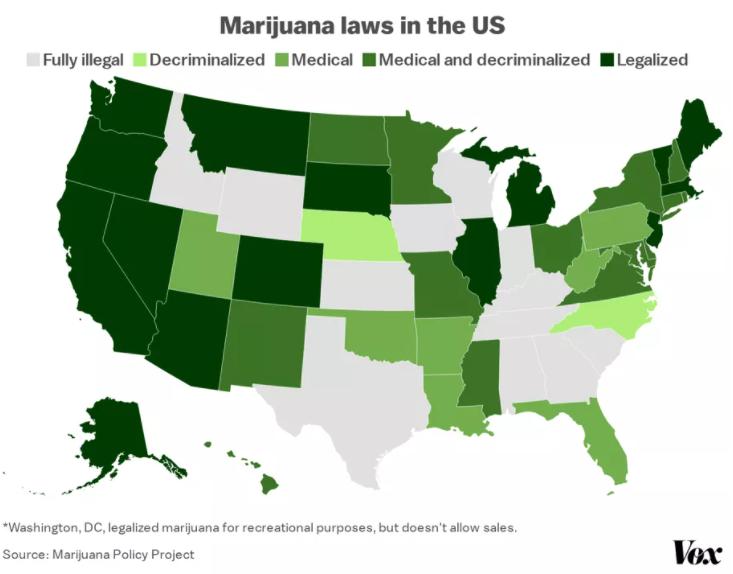 Marijuana legalized